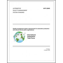 IATF 16949 Automotive Quality Management System Standard